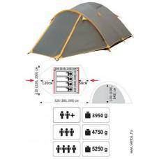 Палатка универсальная «Lair 3»