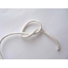 Верёвка плетёная ПА -6.0 мм -16 пр. с сердечником (Белая)